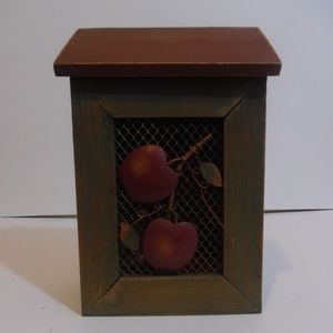 Other - Rustic Apple Decorative Box